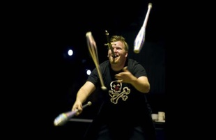 the great gordo gamsby sword swallow juggle
